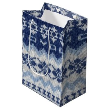 Warm sweater case - Blue