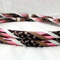 Hula Hoop - Cherry Blossom - Custom Made - Collapsible or Standard - ANY SIZE