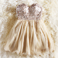 Spool Couture Glitter Girl Party Dress
