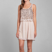 Meg Sparkle Skater Dress