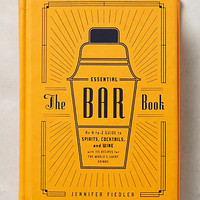 The Essential Bar Book by Anthropologie Orange One Size Gifts