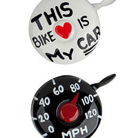 BIKE BELLS | Bike Accessories, Bike Horn, Chime, Creative Design, Cheeky, Humorous Gift, For The Bike Lover, Bike To Work | UncommonGoods