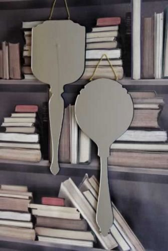 Ara Hand Wall Mirrors designed by Haidee Drew Circular Grace