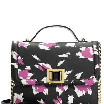 WILD THING LEATHER FLAP CROSSBODY by Juicy Couture, O/S