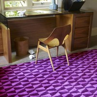 100 Pure Wool - Geometric Rug