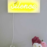 Bianca Hall Silence is Golden Neon Sign - Exclusive to Rockett St George