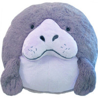 Squishable Manatee: An Adorable Fuzzy Plush to Snurfle and Squeeze!