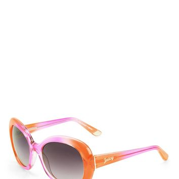 OVERSIZED RECTANGLE SUNGLASSES by Juicy Couture