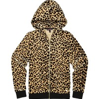 UPTOWN LEOPARD LEOPARD VELOUR RELAXED JACKET by Juicy Couture,