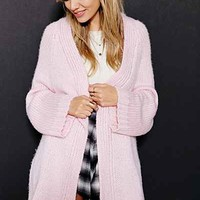 UNIF Cozy Open-Front Cardigan Sweater-