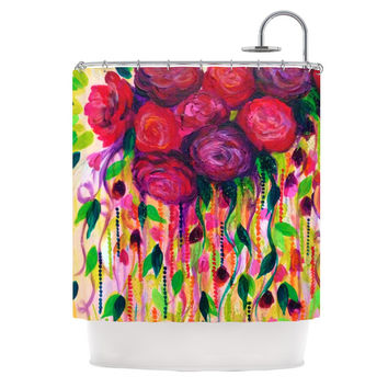"Ebi Emporium ""Roses are Red"" Shower Curtain - 69"" x 70"" / Polyester"