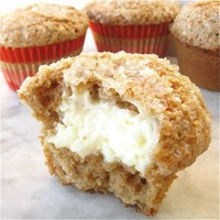Inside out carrot cake muffins.