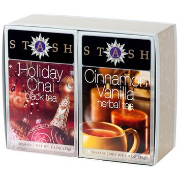 Cinnamon Vanilla and Holiday Chai Boxed Set