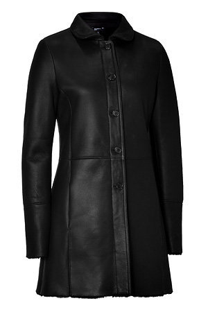 Jil Sander Navy - Black Montone Lamb Jacket