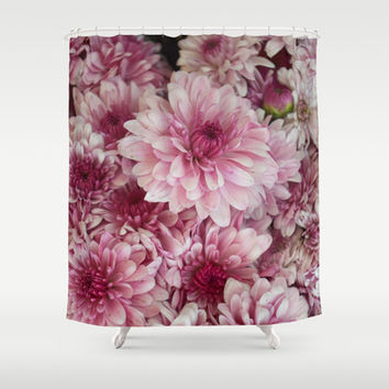 Dead Pink Shower Curtain by RichCaspian | Society6