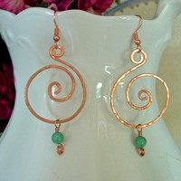 Natural Copper And Turquoise Hand H.. on Luulla
