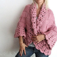 Hand Knit Cardigan