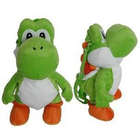 Nintendo Super Mario Bros. Yoshi Plush Doll Backpack