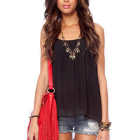 Tiny Pleats Tank Top $24 (on sale from $41)