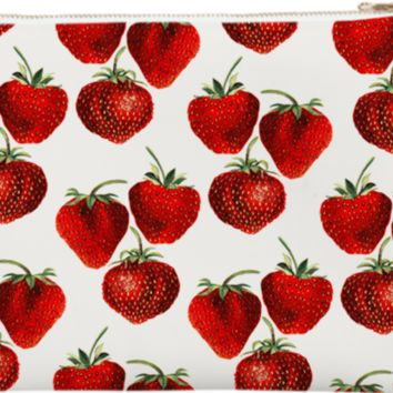 Strawberries Pattern created by heartofheartsdesigns | Print All Over Me