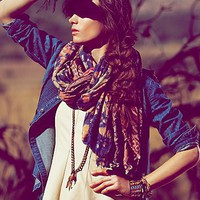 Free People Tapestry Scarf