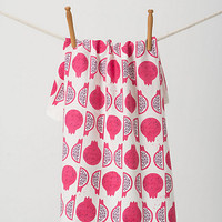 Sliced Pomegranate Dishtowel