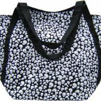 ROCKWORLDEAST - Tote Bag, Pile Of Skulls Purse