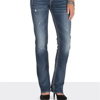 silver jeans co. ® Suki slim boot jeans with lace
