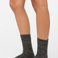 Marled Sweater Crew Sock