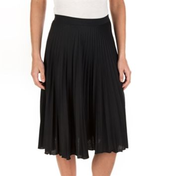 Living Doll Juniors Pleated Midi Skirt at Von Maur