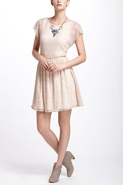 Frothed Dots Dress