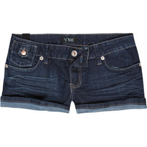 YMI Front Flap Pocket Womens Denim Shorts 194929827 | Shorts | Tillys.com