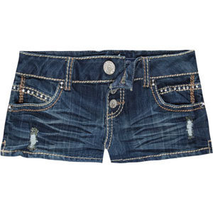 ALMOST FAMOUS 3 Button Front Womens Denim Shorts DNM S 189472865 | Shorts | Tillys.com