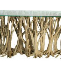 Asian Art Imports, Orange Tree Root Console, UNITED STATES -  GoodFactories