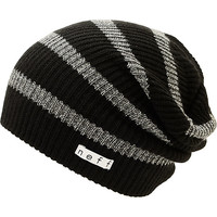 Neff Daily Black Stripe Sparkle Beanie
