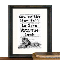Twilight Art Print Decor - The Lion.. on Luulla