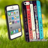 John Green All Books cover case for iPhone 4 4S 5 5C 5S 6 6 Plus Samsung Galaxy s3 s4 s5 Note 3