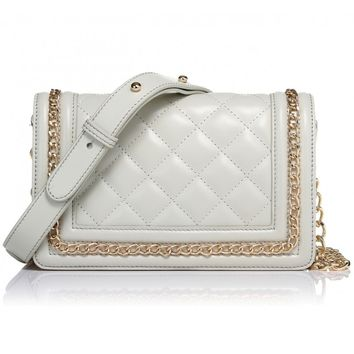 The Tanya White in Nappa Leather Handbag by Greg Michaels