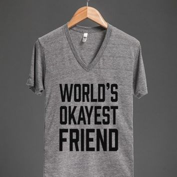 Athletic Grey T-Shirt | Funny Friendship Shirts