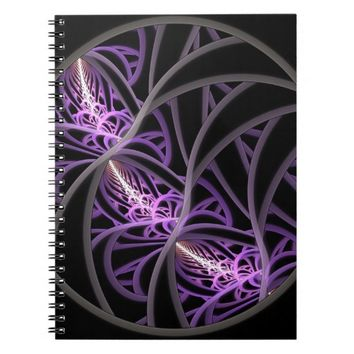 Entangled - Notebook - 80 pages - 6.5 x 8.75 inches | Zazzle