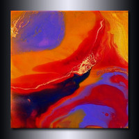 12 x12 Print: Colourful Abstract