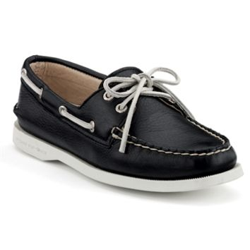 Sperry Top-Sider School Spirit Authentic Original 2-Eye Boat Shoe at Von Maur