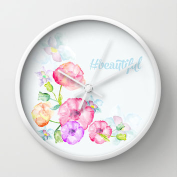 #Beautiful Wall Clock by Uma Gokhale