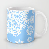 Winterland Blue Mug by Lisa Argyropoulos