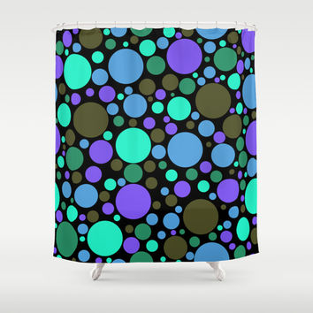 Dottiness Shower Curtain by Alice Gosling