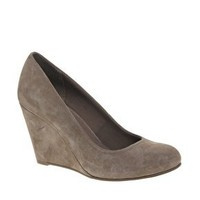 ASOS | ASOS SCAMP Suede Wedge Court Shoe at ASOS