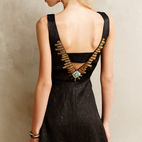 Necklaced Mini Dress by Cynthia Vincent Black