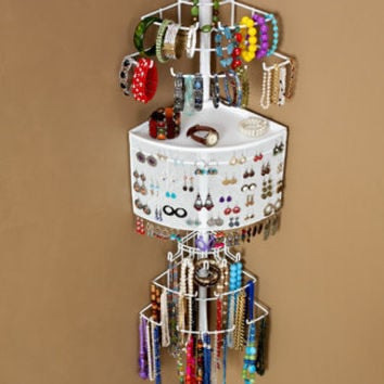 The Longstem Corner Jewelry Organizer