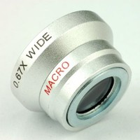 Action1st 0.67x Magnetic Wide Angle + Macro Lens for iPhone 4 4S 4G 5 5G 5S 5C Samsung Galaxy S2 I9100 S3 I9300 S4 I9500 Note1/2/3, HTC One