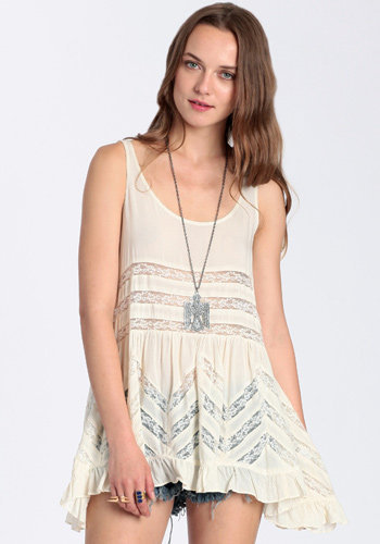 Head Strong Lace Tank - $45.00: ThreadSence, Women's Indie & Bohemian Clothing, Dresses, & Accessories